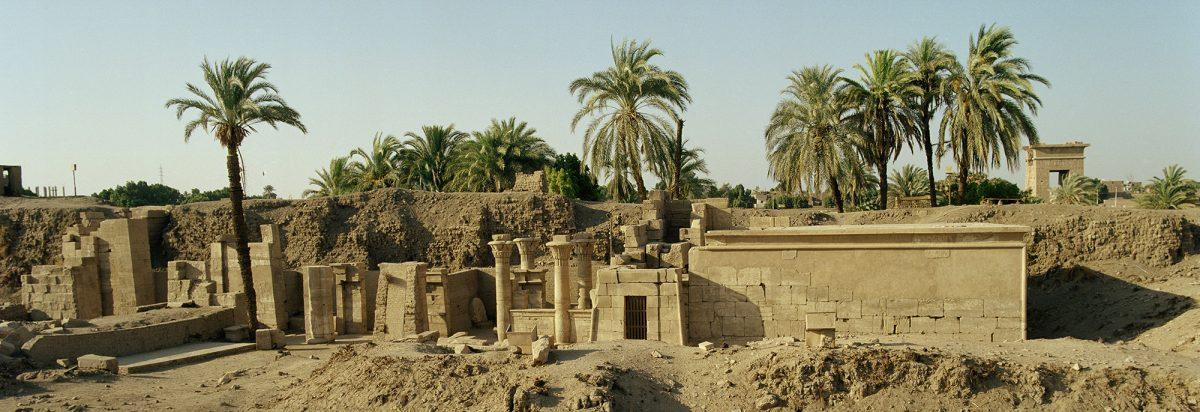 Le secteur du temple de Ptah